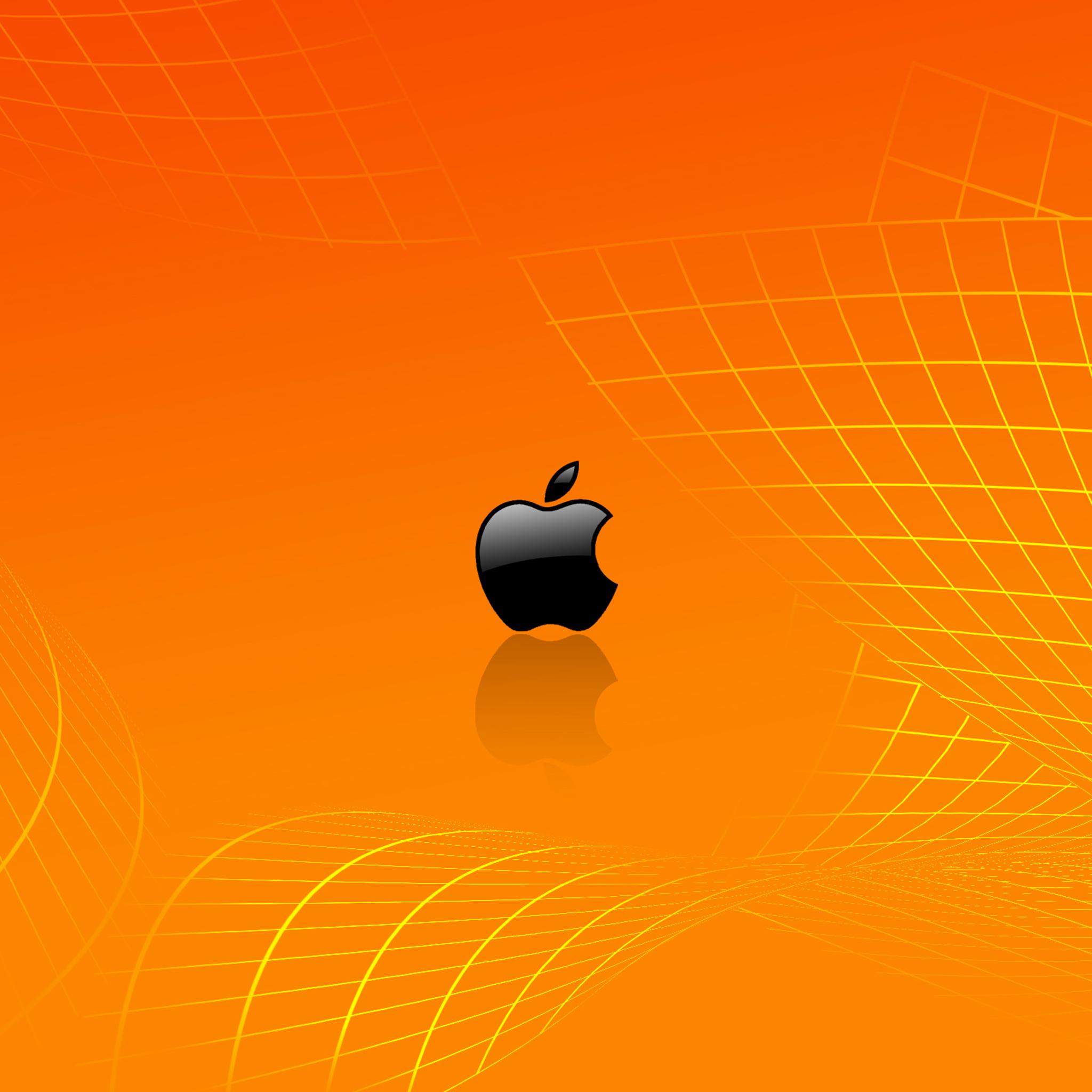 Orange Apple Wallpaper ...