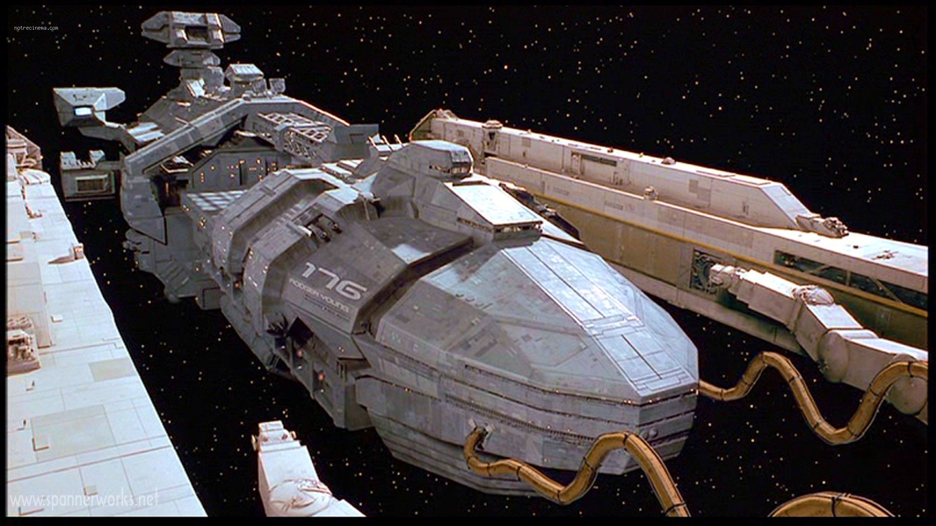 starship wallpaper troopers film custom detail communaute 1920x1080