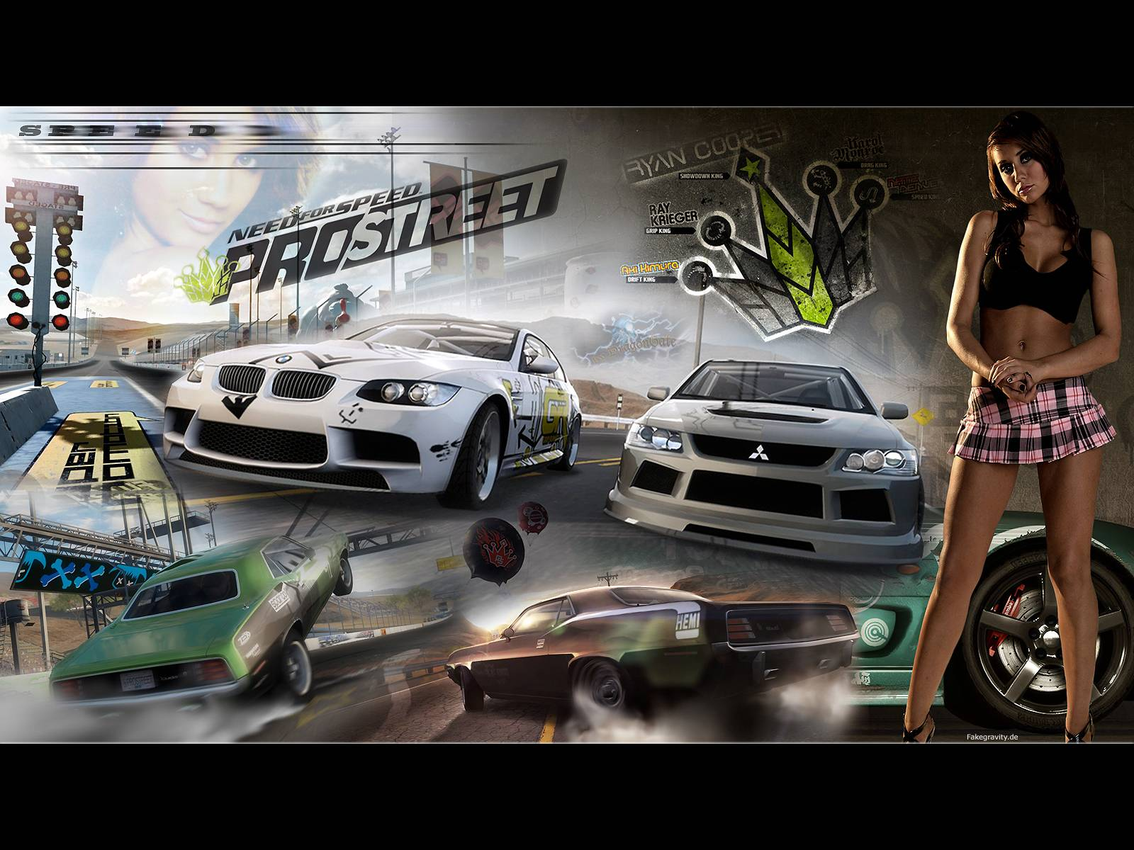 nfs pro street   Need For Speed Wallpaper 1600x1200
