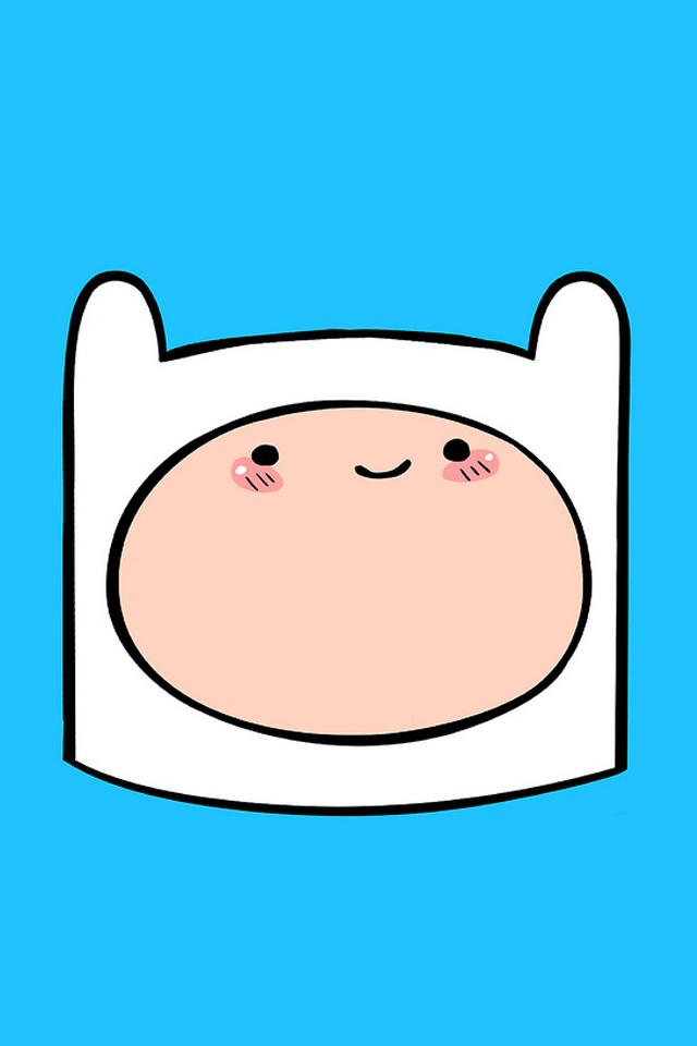 Adventure Time Finn iPhone Wallpapers HD iPhone Wallpaper 640x960