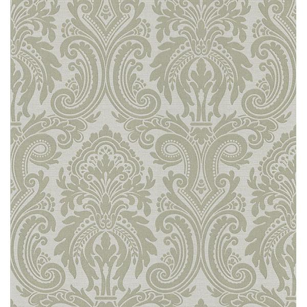 283 46967 Black Modern Damask   Apollo   Beacon House Wallpaper 600x600