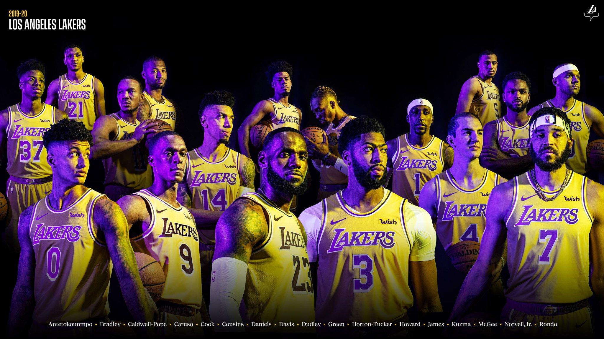 [56+] Lakers 2020 Wallpapers on WallpaperSafari