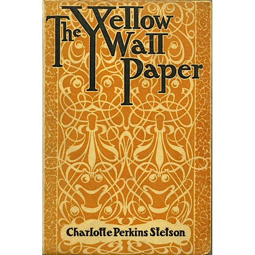 first published in 1892 the yellow wall paper is written as the secret 525x525