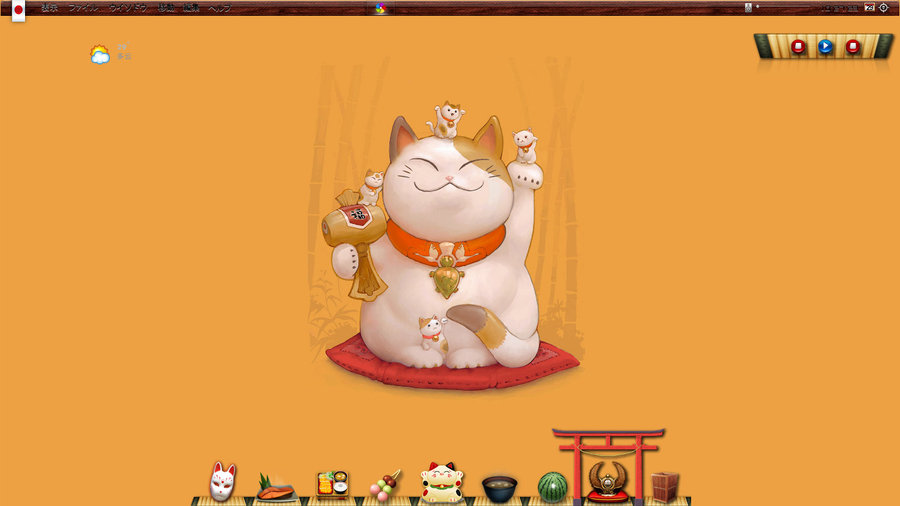 Exceptional Lucky Cat Wallpaper Japan Lucky Cat By Beautify Gs 900x506