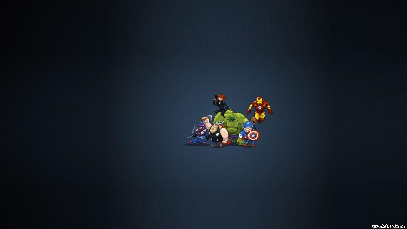 49 ] Avengers Cartoon Wallpaper on WallpaperSafari