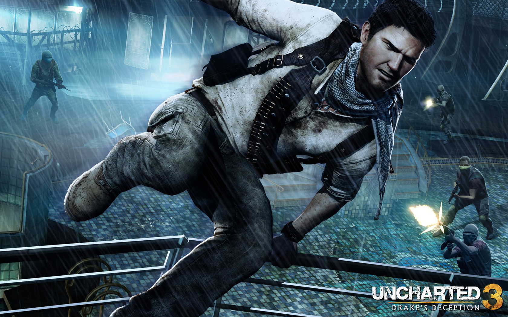 Uncharted 3 Co op Shade Survival Mode Official Release Date 1680x1050