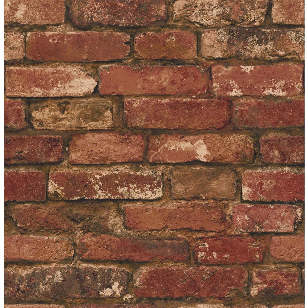 wilkocomfine decor rustic brick wallpaper red fd31285invt0336772 1000x1000