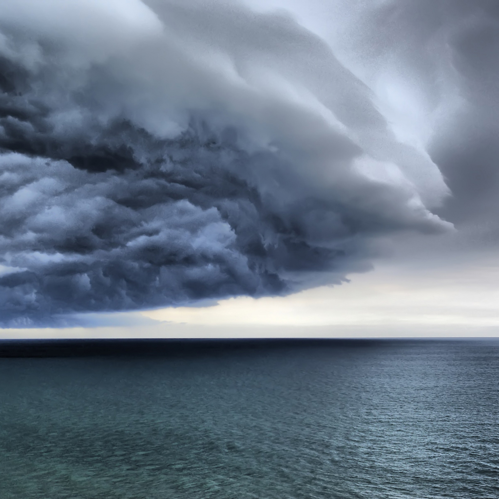 Incoming Storm iPad Wallpapers Download 1024x1024