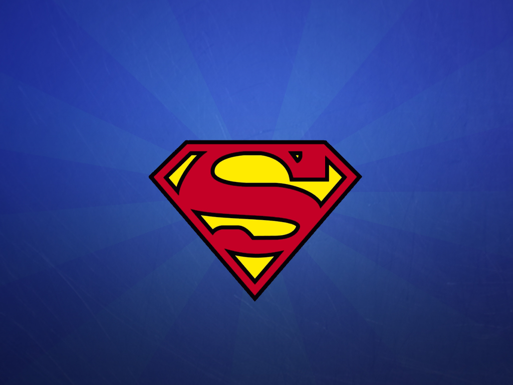 superman logo wallpaper by h thomson d4i113cjpg 1024x768