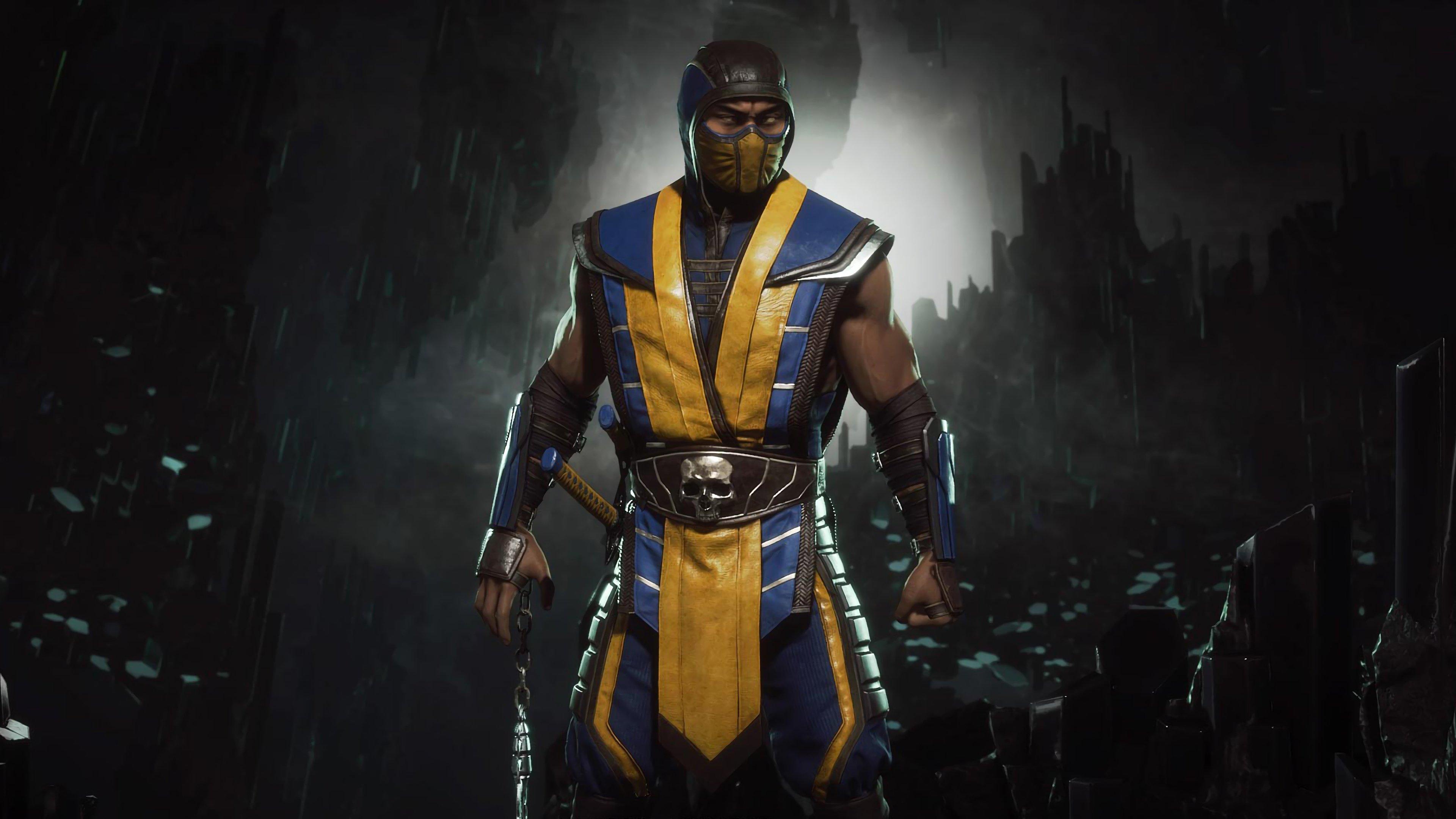 Free Download Mortal Kombat 11 Scorpion 4k Image Hd Games 4k