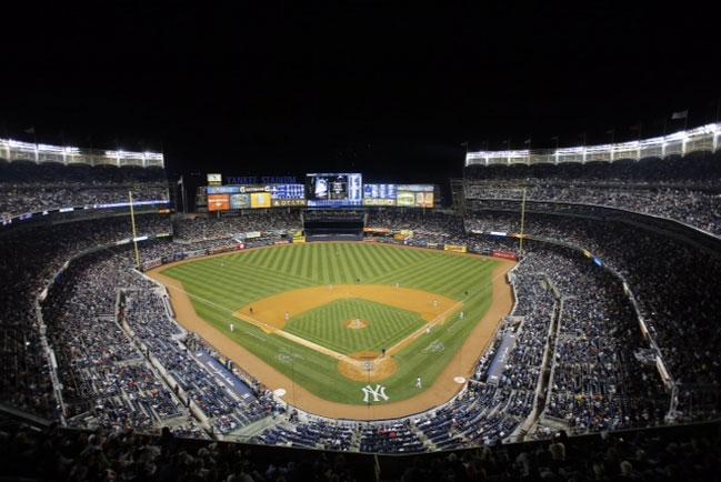 Yankee Stadium Sunset Wallpaper