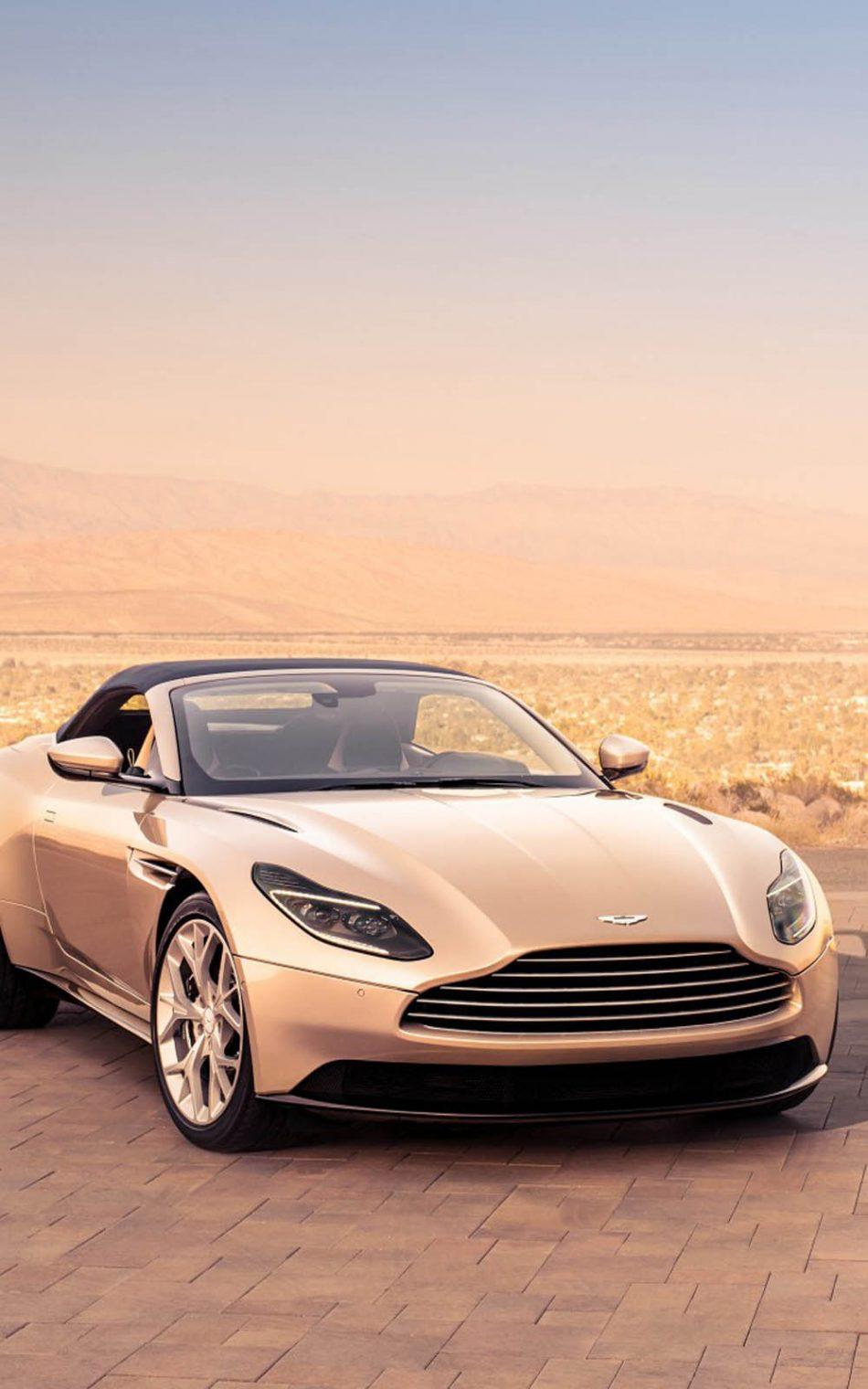 Download Aston Martin DB11 Volante Pure 4K Ultra HD Mobile 950x1520