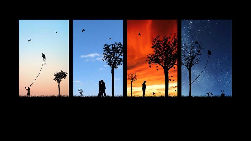 four seasons 02 1920x1080 wallpaper Nature Seasons HD Desktop 800x450