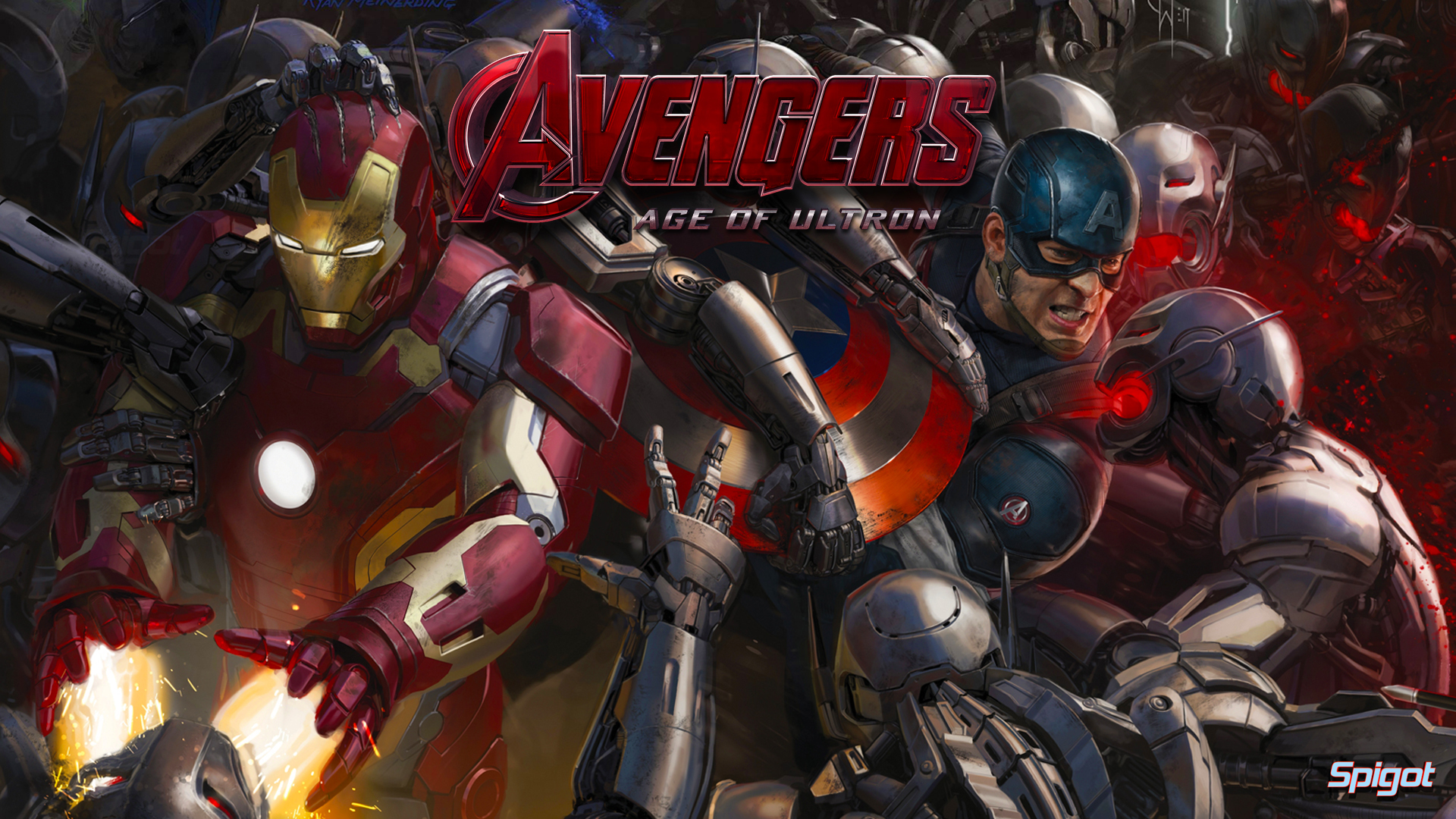 wallpapers I made from the eagerly anticipated Avengers Age of Ultron 1920x1080