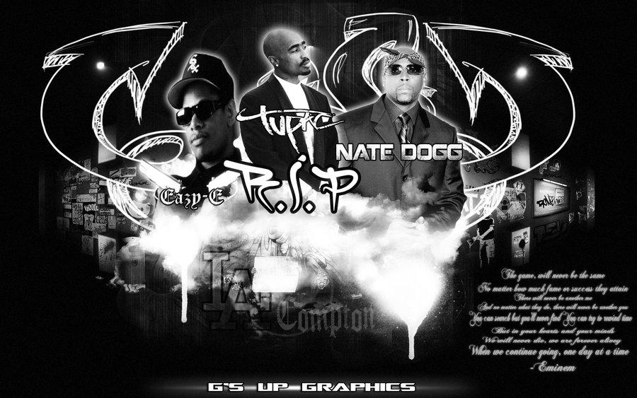 Eazy E And Tupac Wallpaper Rip eazy e 2pac and nate 900x563