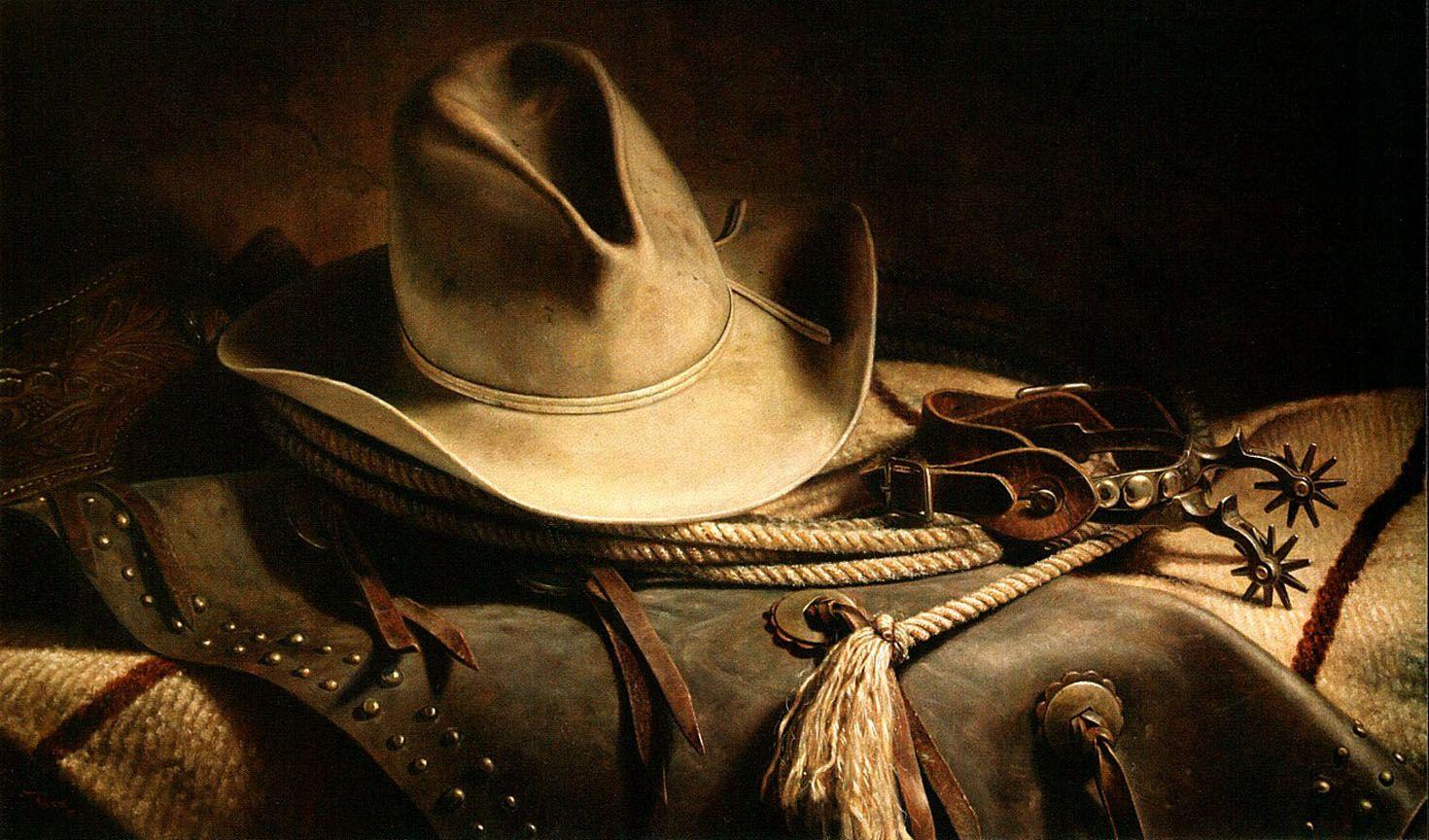 Pin Western Art Cowboy Hat Spurs on Pinterest