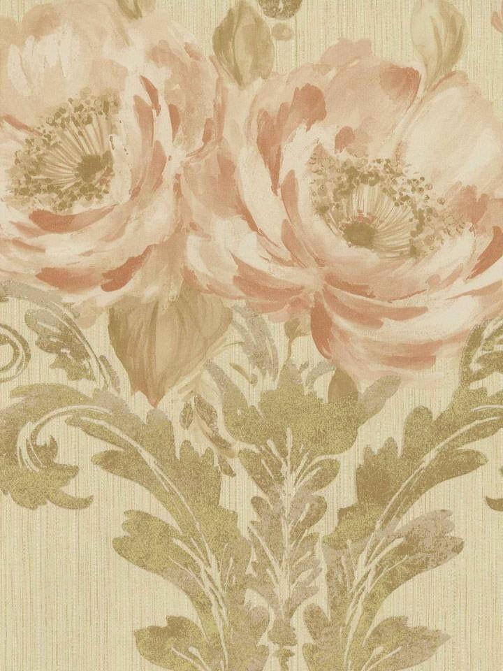 Interior Place   Brown Aphrodite Rose Wallpaper 3824 httpwww 720x960