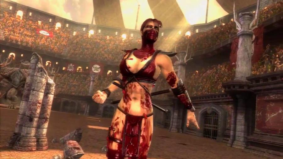 Skarlet Mortal Kombat Wallpaper - WallpaperSafari
