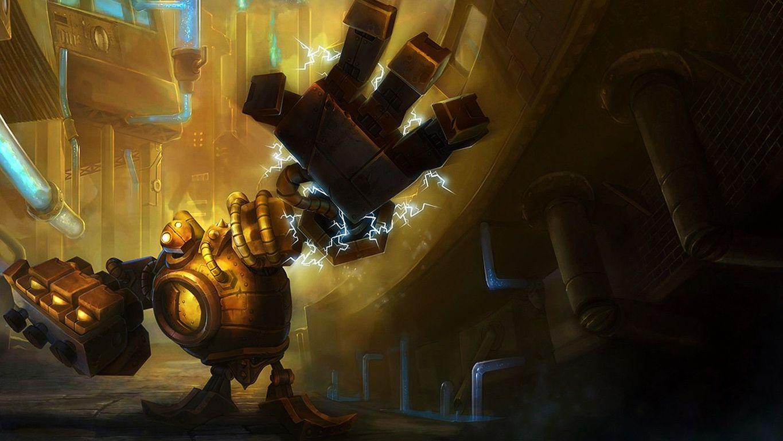 Blitzcrank League Of Legends Hd Wallpaper: League Of Legends Blitzcrank Wallpaper