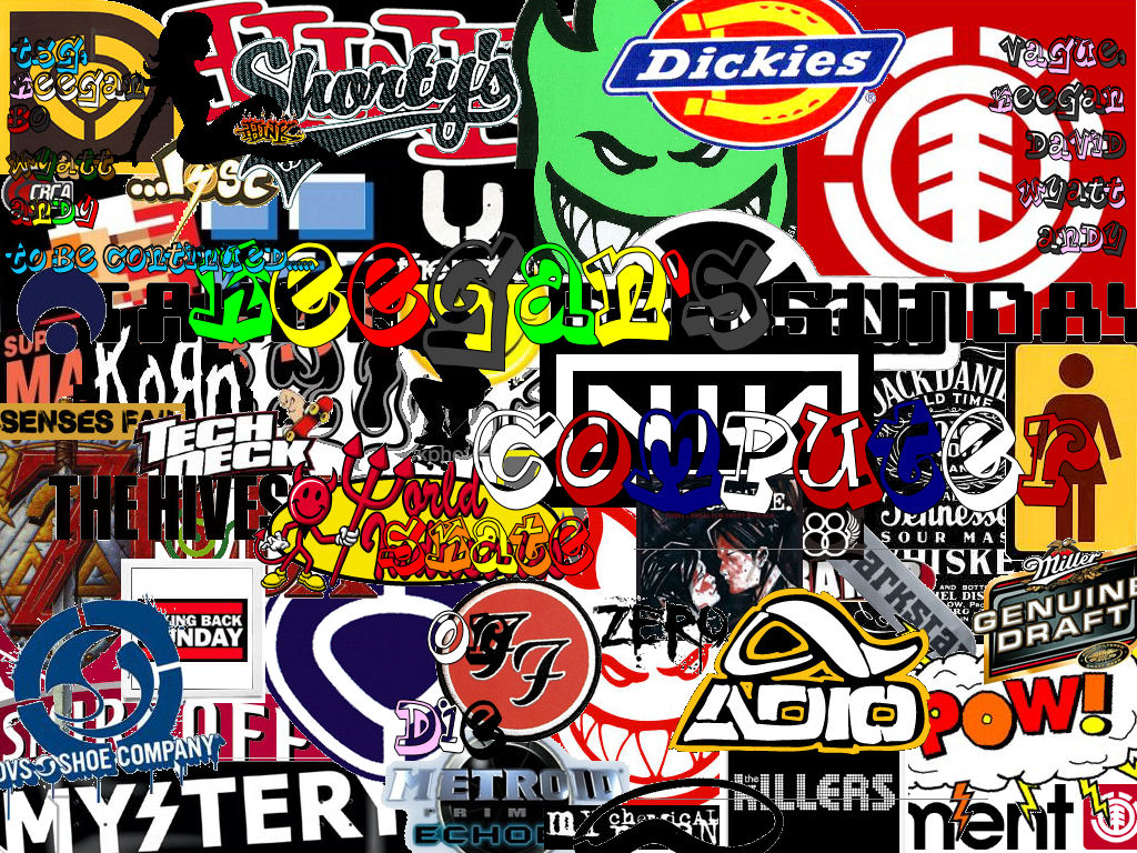 Free Download Skate Brand Wallpapers 1024x768 For Your
