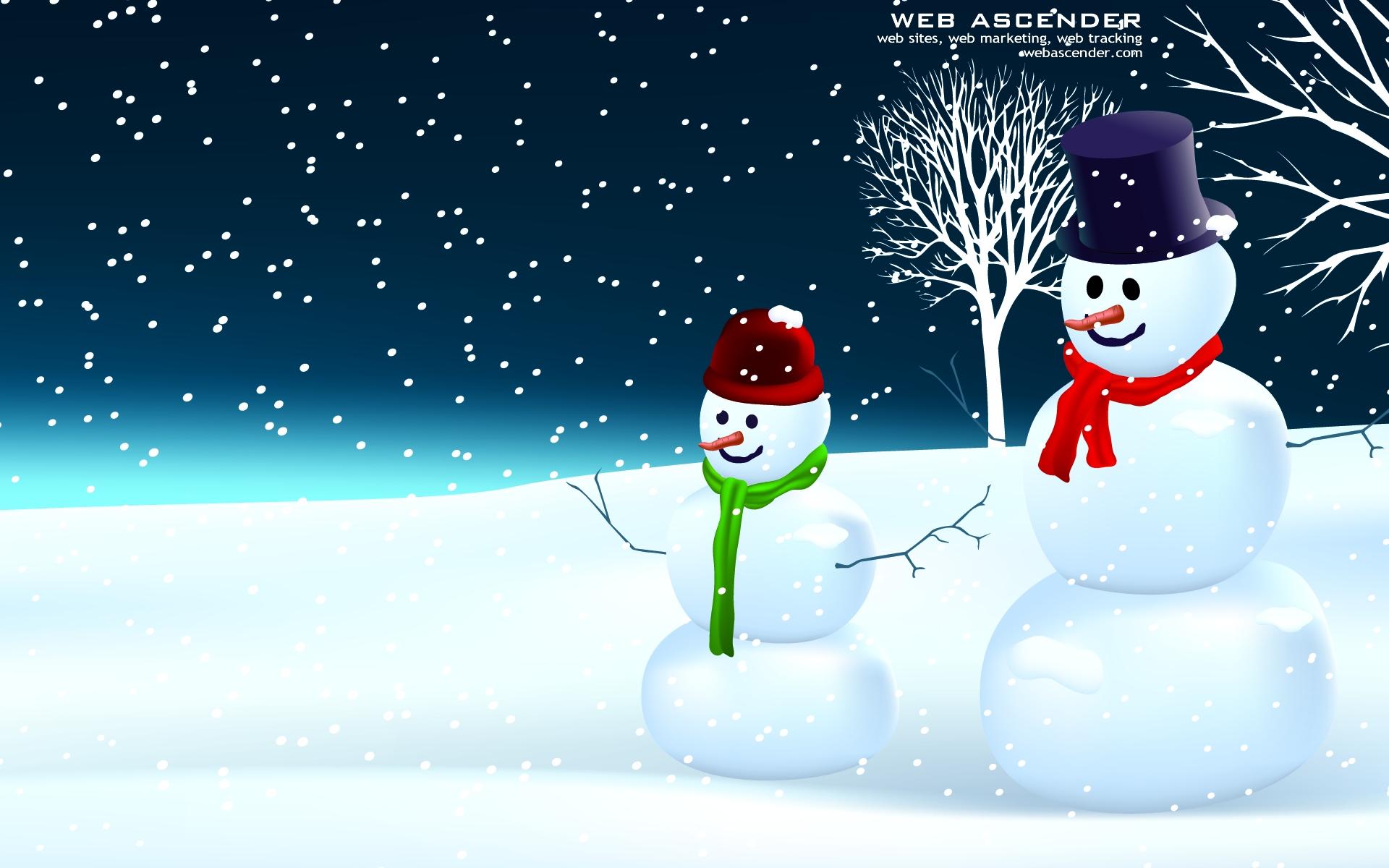 Snowman Screensavers and Wallpaper - WallpaperSafari