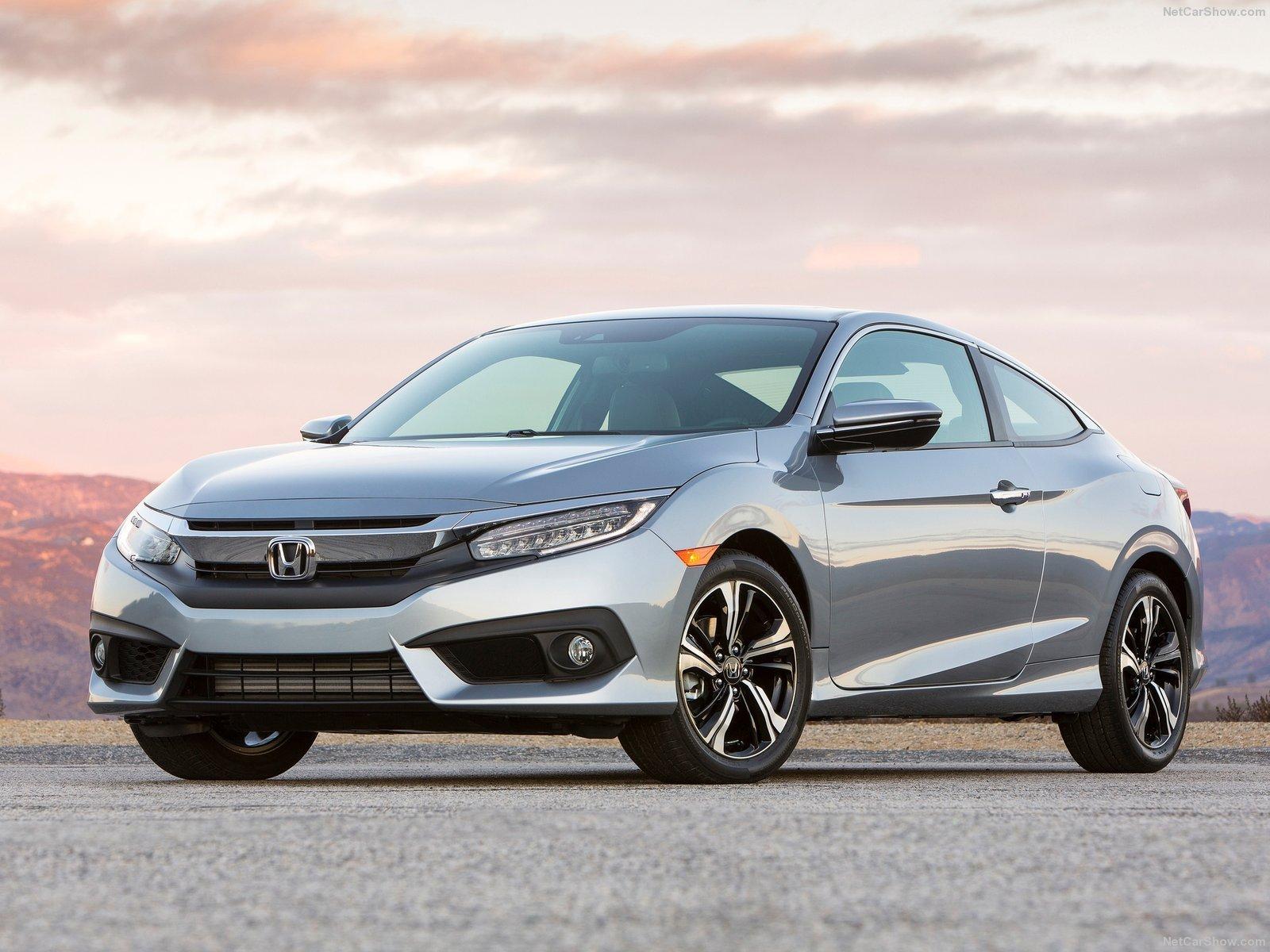 2016 Honda Civic Cars Silver Coupe Wallpaper 1600x1200 897755