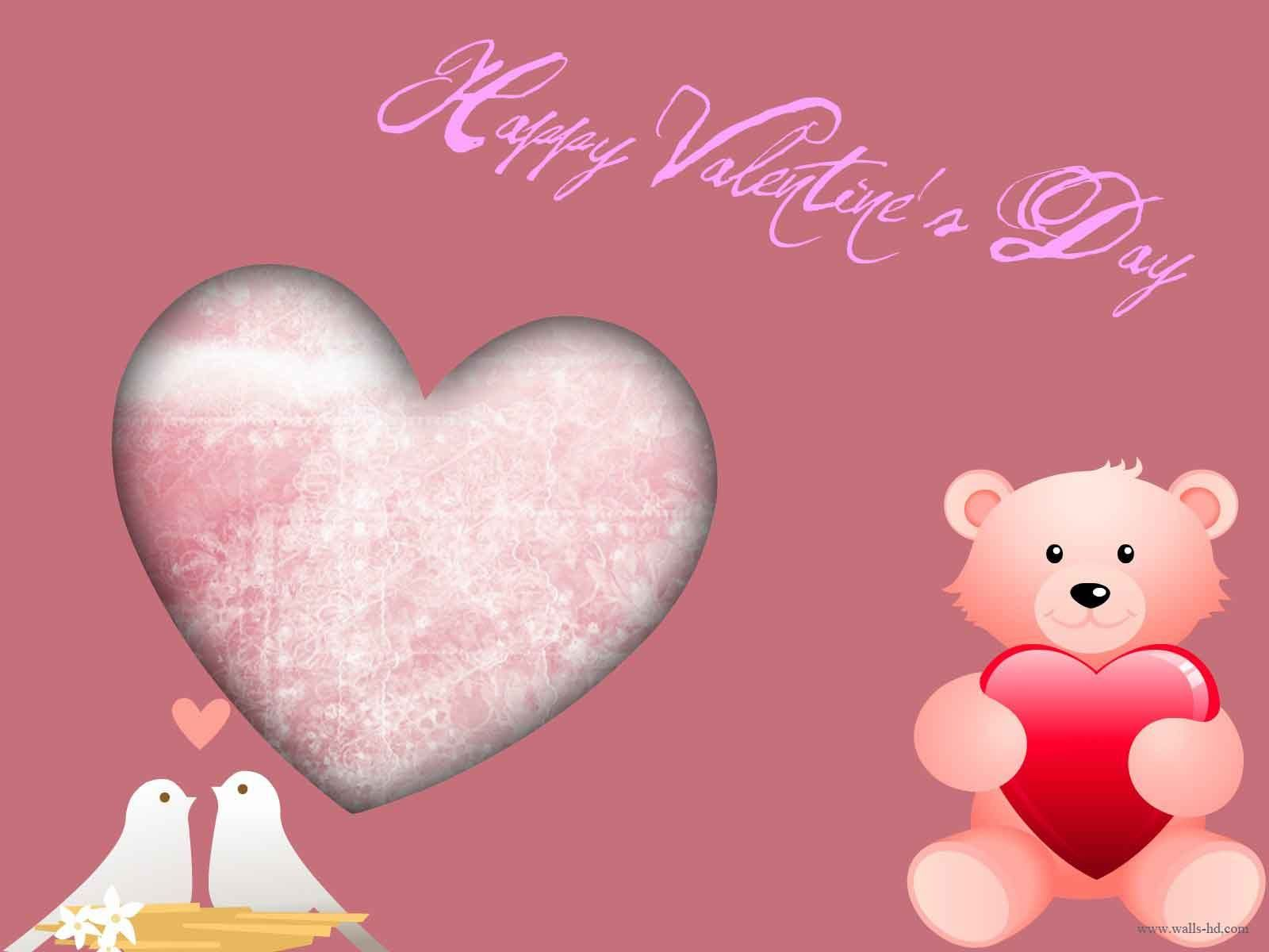 Cute Valentines Day Wallpaper Wallpapers Backgrounds 1600x1200