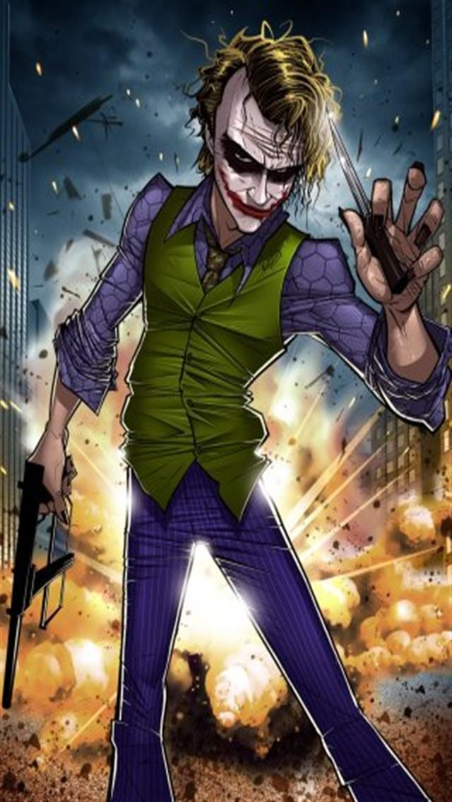 Joker Cartoon Wallpapers Wallpapersafari