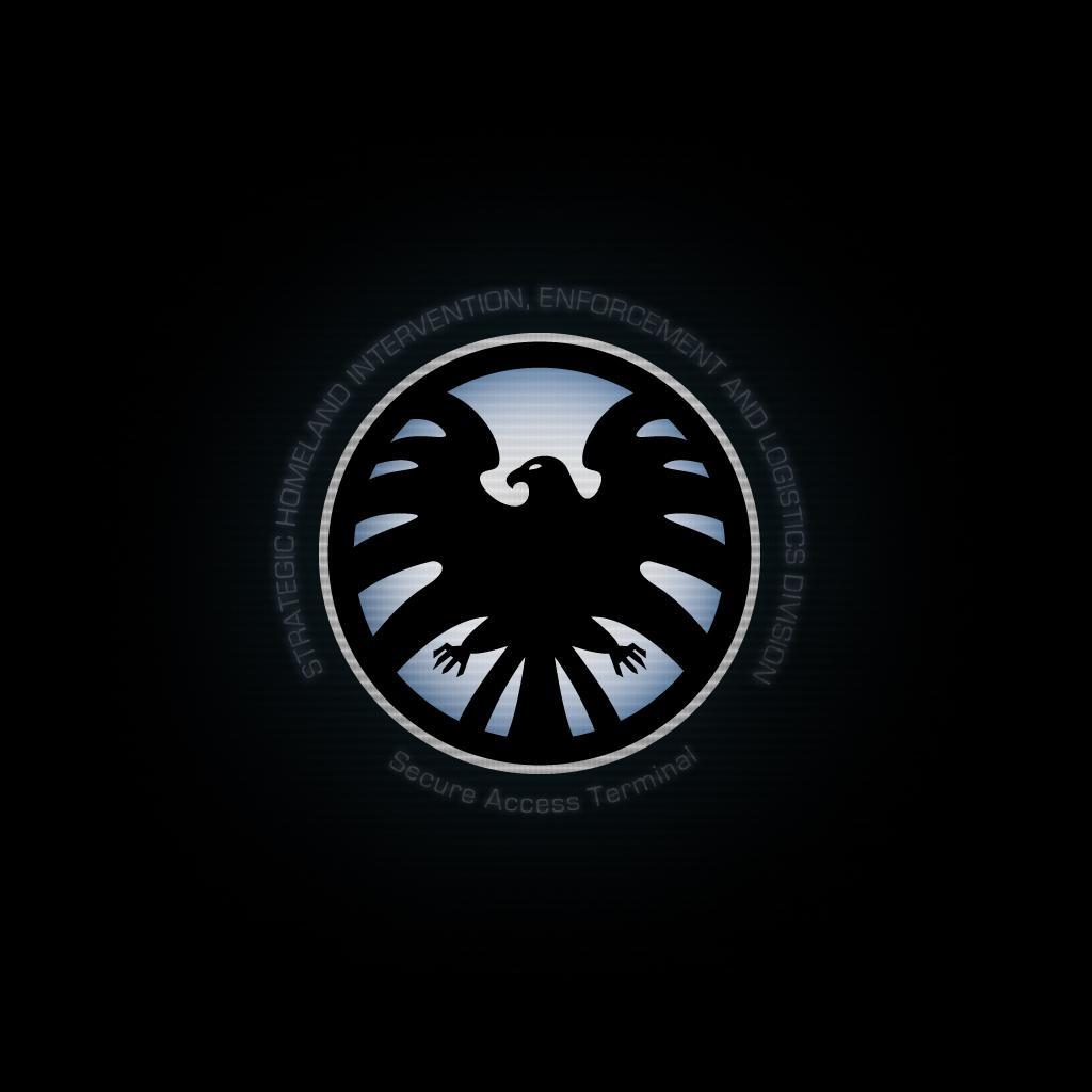 Marvel Shield Logo Wallpaper Avengers Logo Wallpaper Iphone 1024x1024