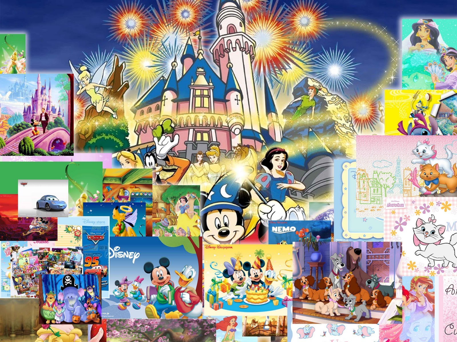 Download wallpapers gratis 50 disney wallpaper 1600x1200