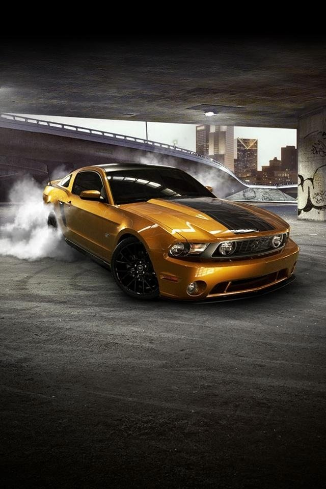 Gt Charger: Mustang IPhone Wallpaper