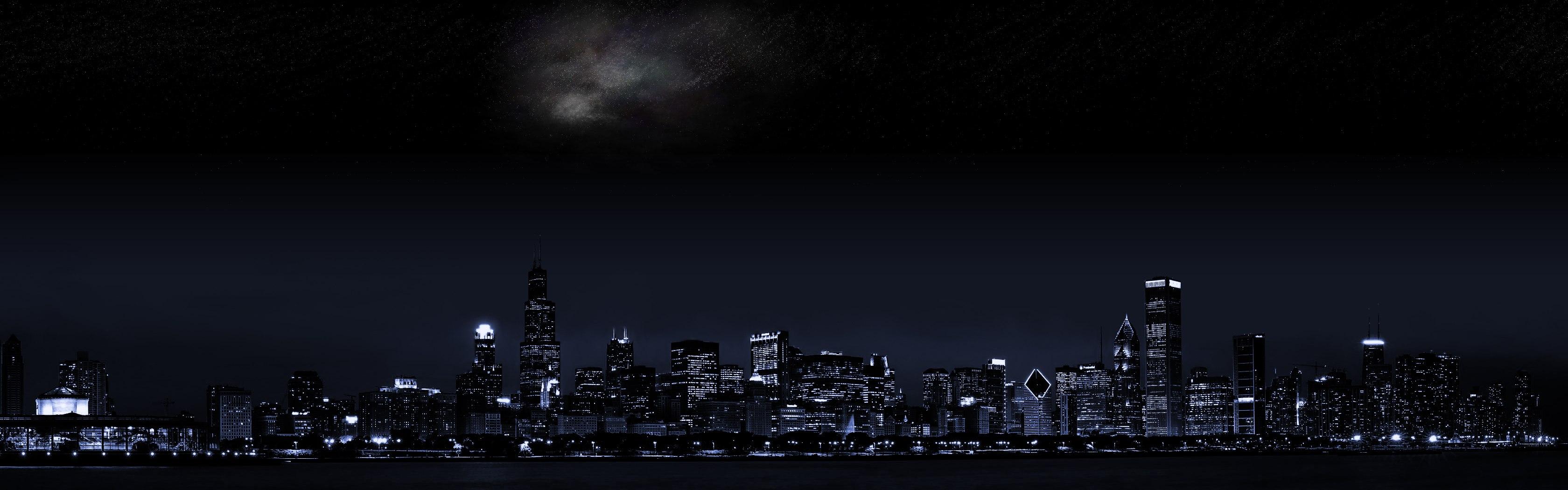 Dark city wallpaper 3360x1050 HQ WALLPAPER   25534 3360x1050