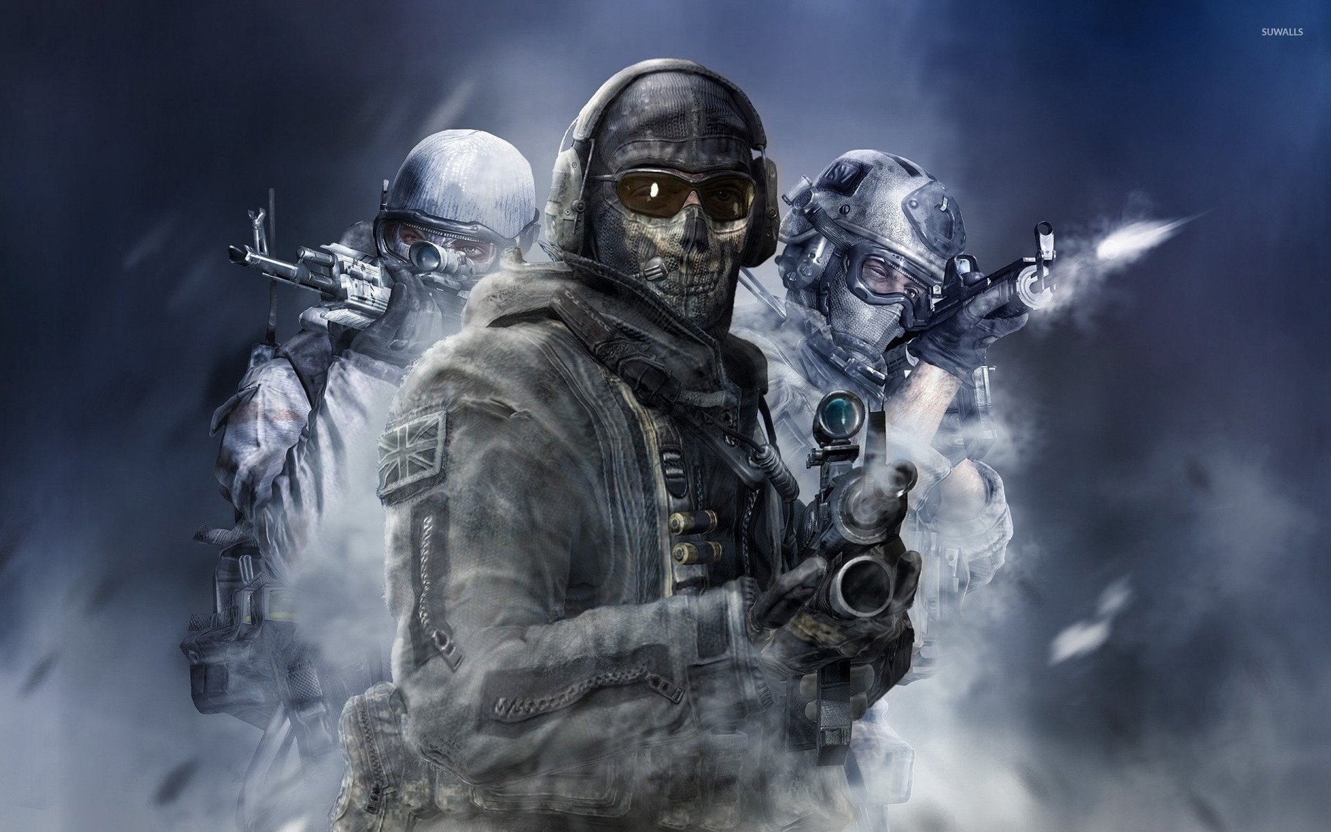 Call of Duty Ghosts Wallpaper - WallpaperSafari