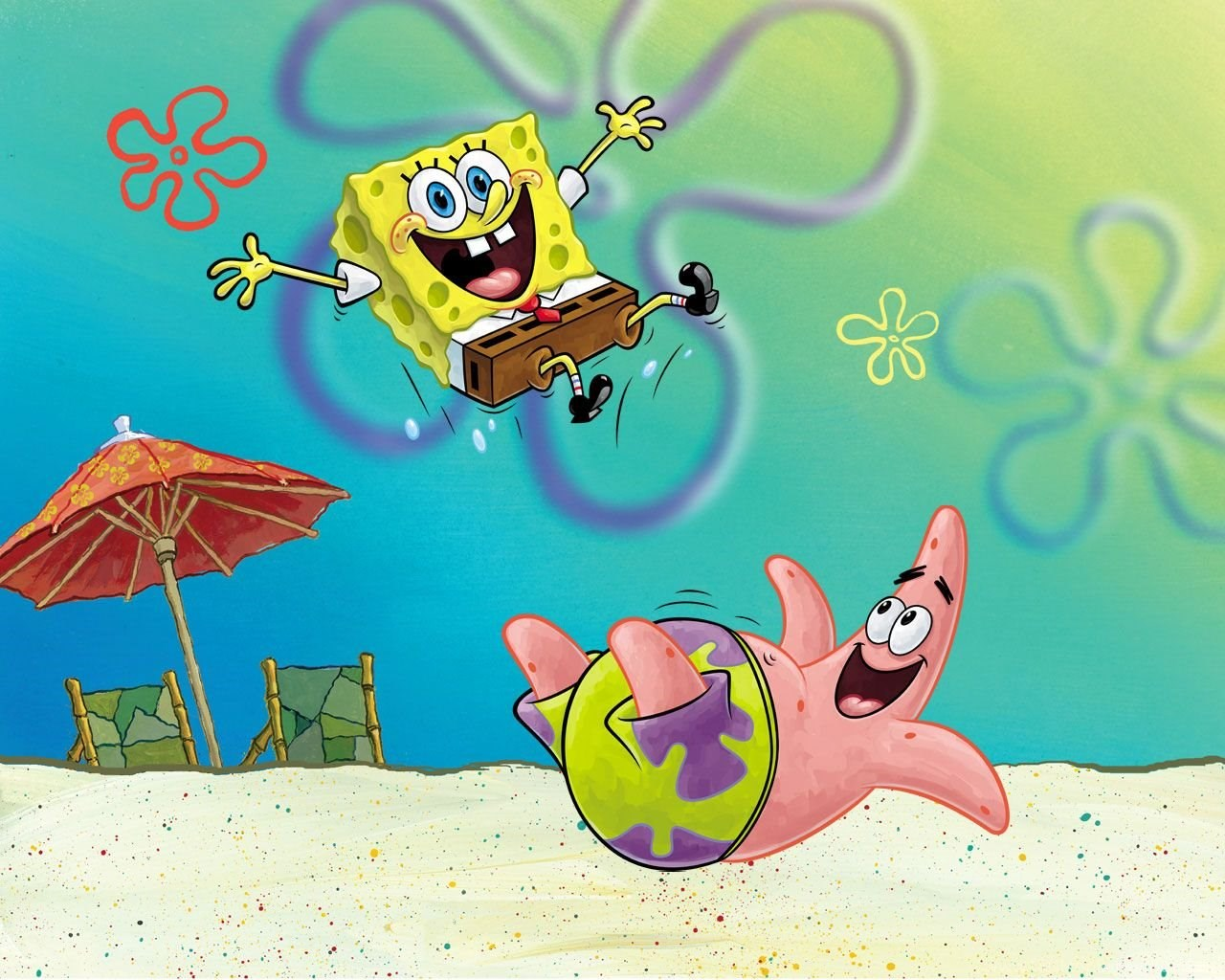 Spongebob Patrick Spongebob Squarepants Wallpapers 1280x1024