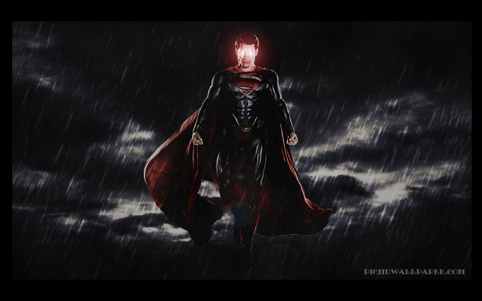 Superman Eyes in Batman Vs Superman Desktop HD Wallpaper 1920x1200