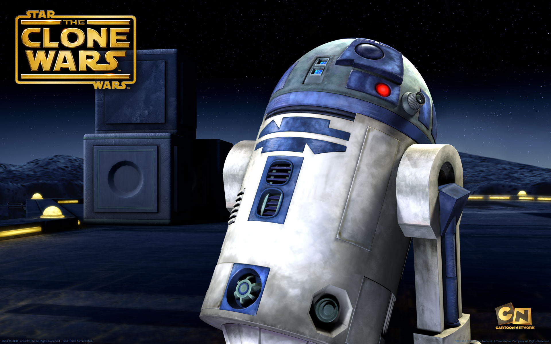 Desktop Wallpaper Picture Of The Droid R2d2 From Clone Wars Series 1920x1200