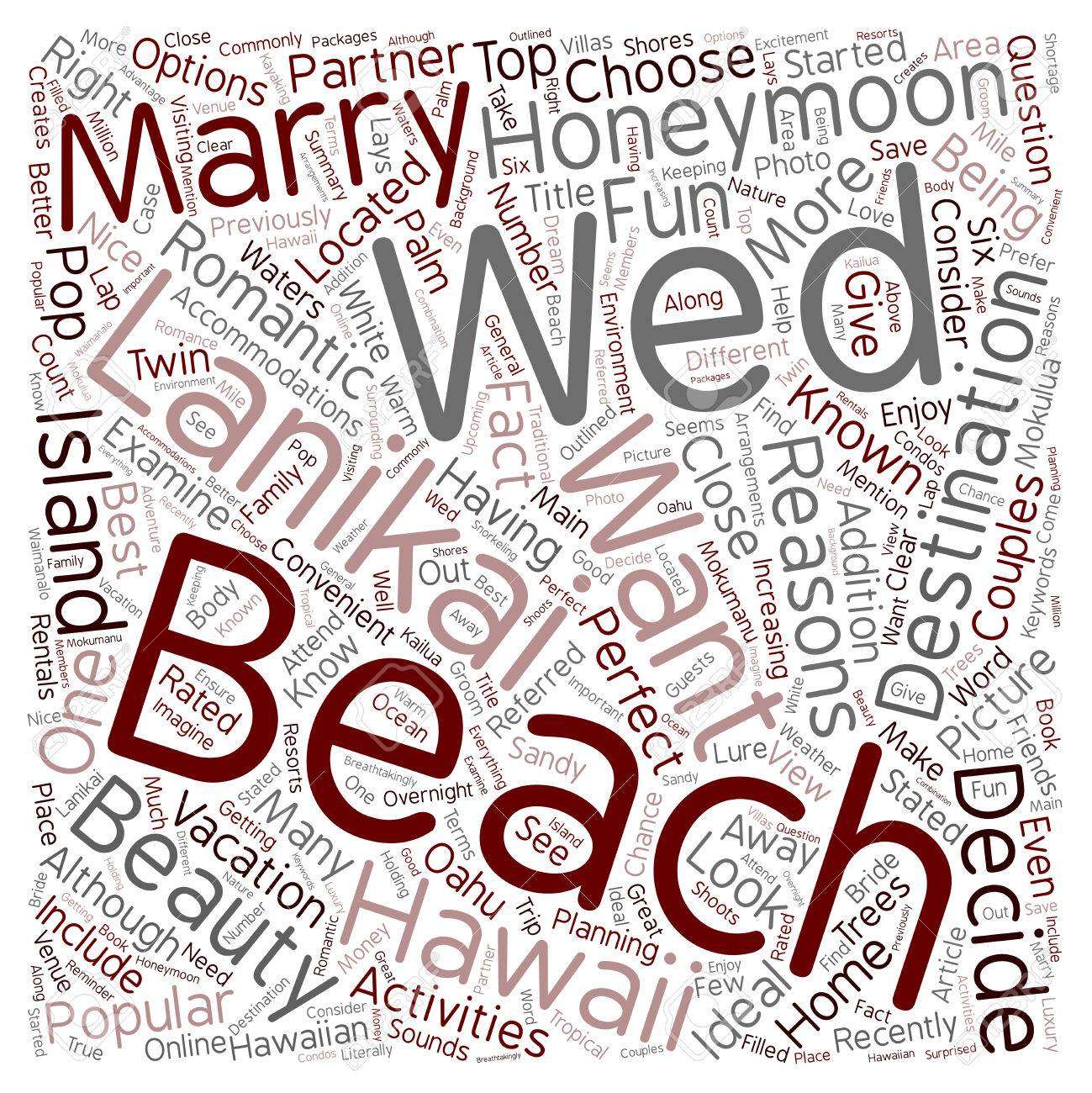 Reasons Why You Should Get Married At Lanikai Beach Text 1299x1300