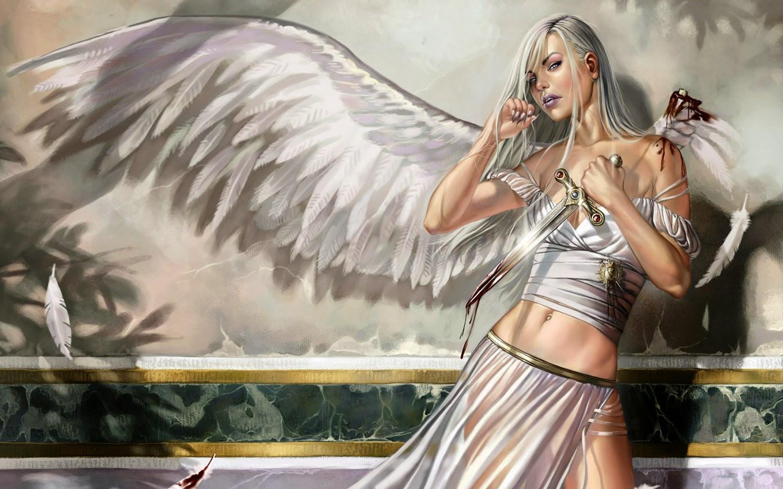 Labels Angel Desktop Wallpaper 1440x900