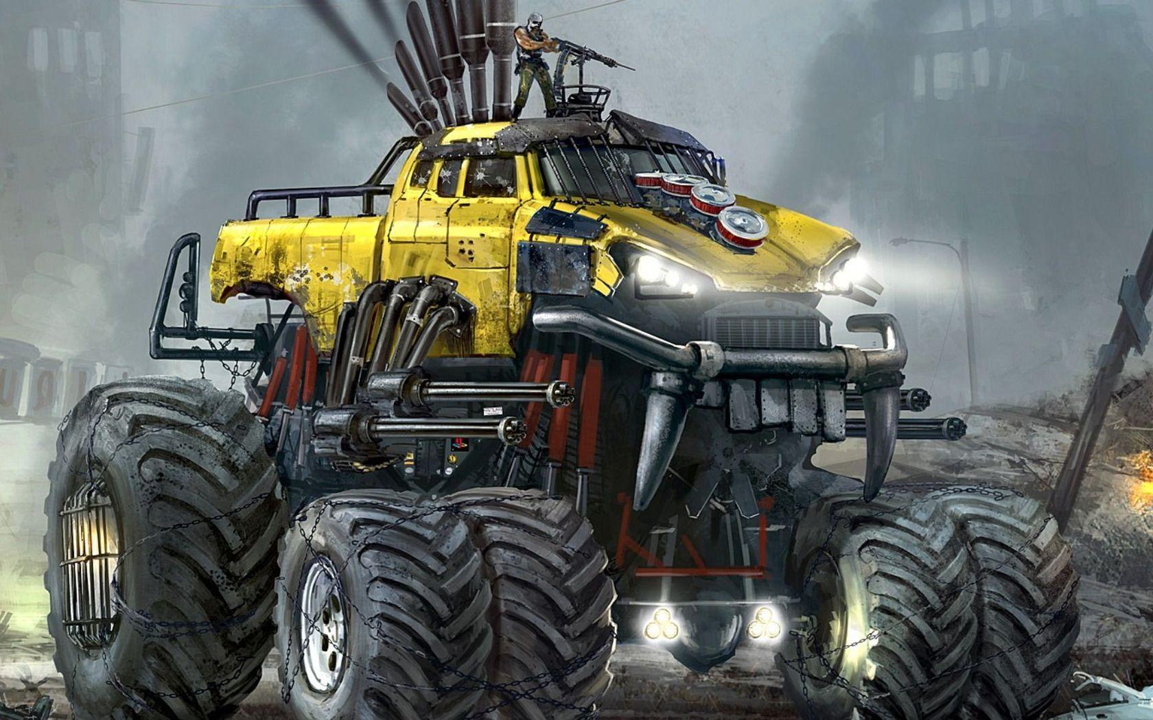 Monster Truck wallpaper 1680x1050