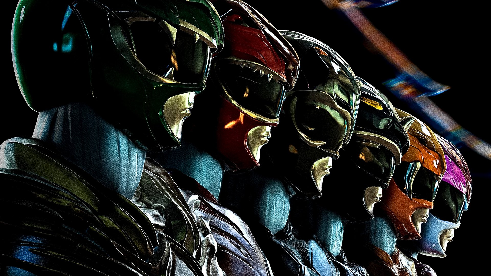 50 Power Rangers 2017 HD Wallpapers Background Images 1920x1080
