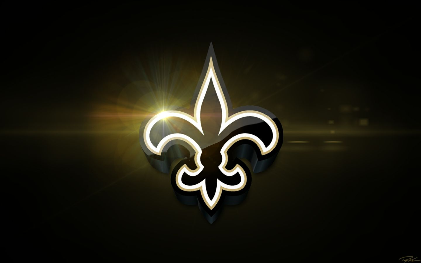 New Orlean Screensaver Saints Football More PC Wallpaper 1440x900