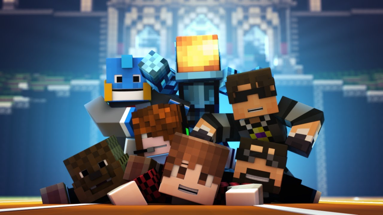 Minecraft Animation TEAM CRAFTED IS HERE 1280x720