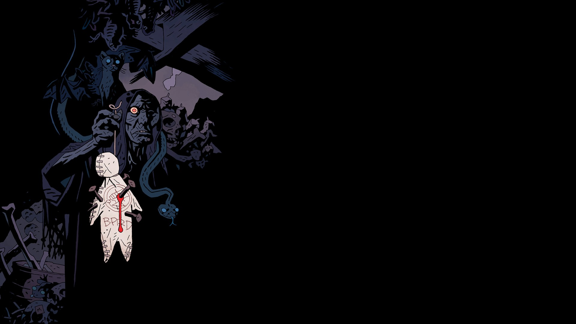 Wallpaper Abyss Explore the Collection Hellboy Comics Hellboy 389697 1920x1080
