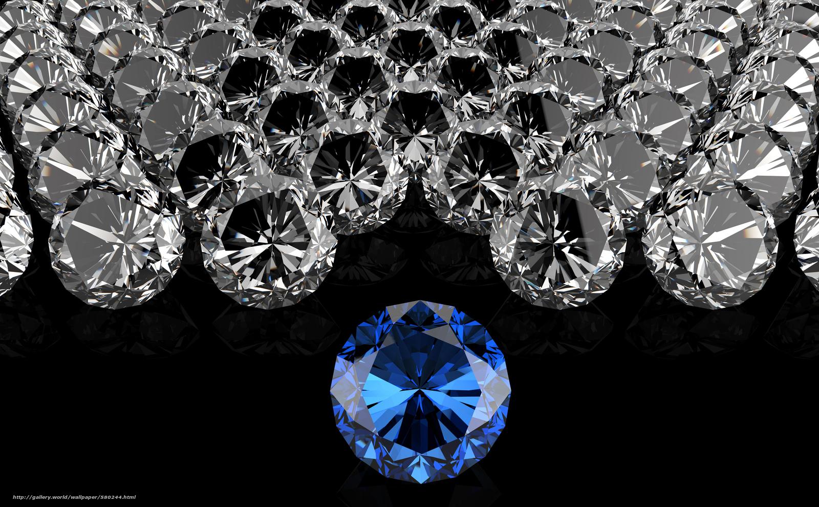 DIAMOND Pebbles Diamonds black background desktop wallpaper 1600x990