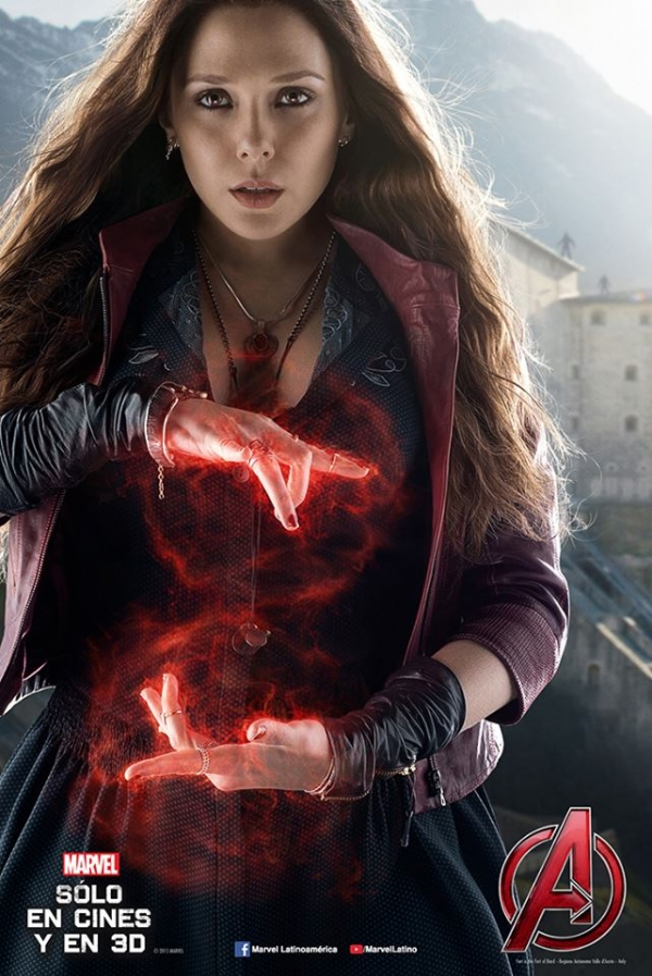 Picture of Scarlet Witch Elizabeth Olsen 600x897