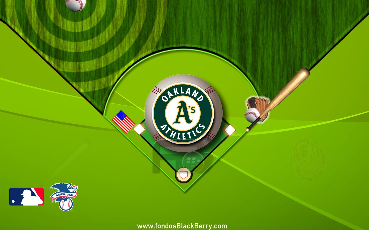 Download Oakland Athletics Logo MLB Grandes Ligas EEUU BaseballJPG 1280x800