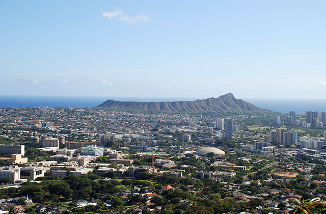 Diamond Head and Kaimuki University of Hawaii Manoa 640x420