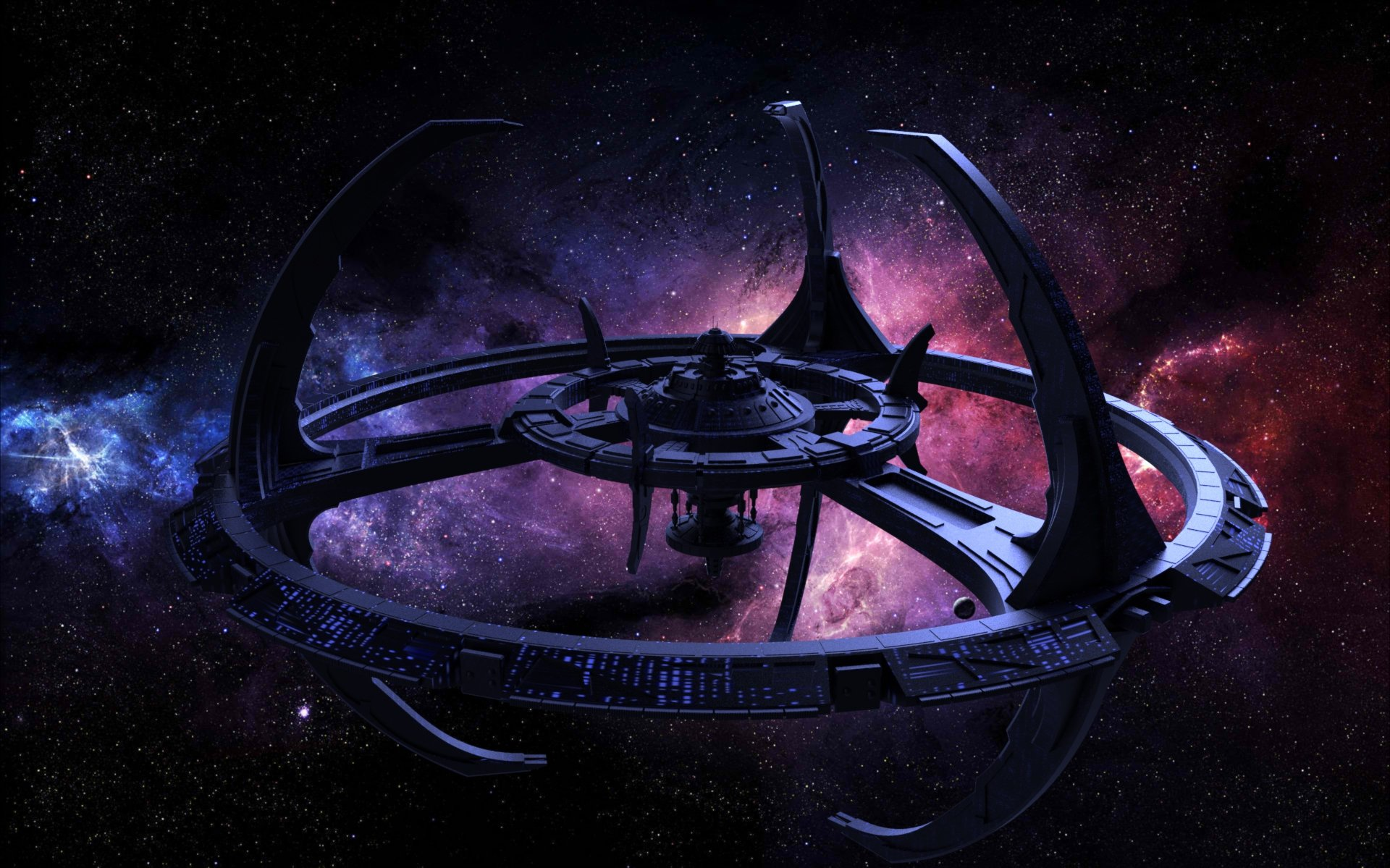 DEEP SPACE NINE Star Trek futuristic television sci fi spaceship 26 1920x1199