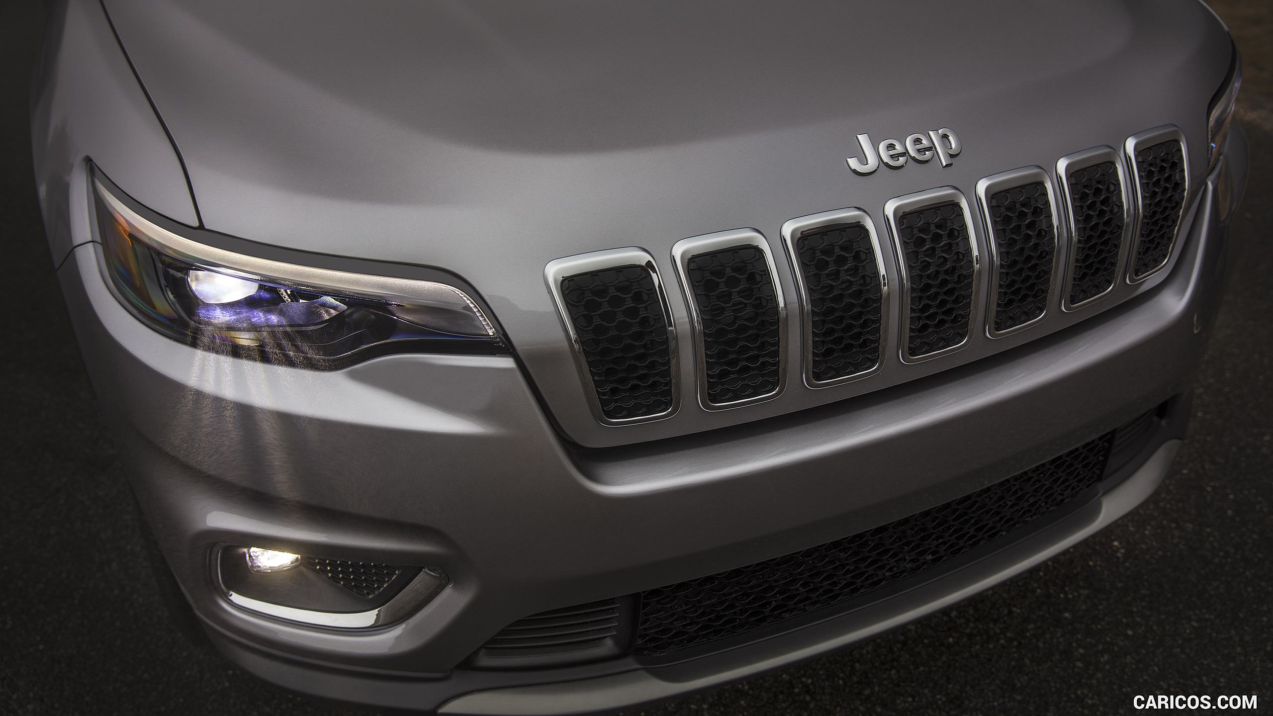 2019 Jeep Cherokee Limited   Grill HD Wallpaper 85 2560x1440