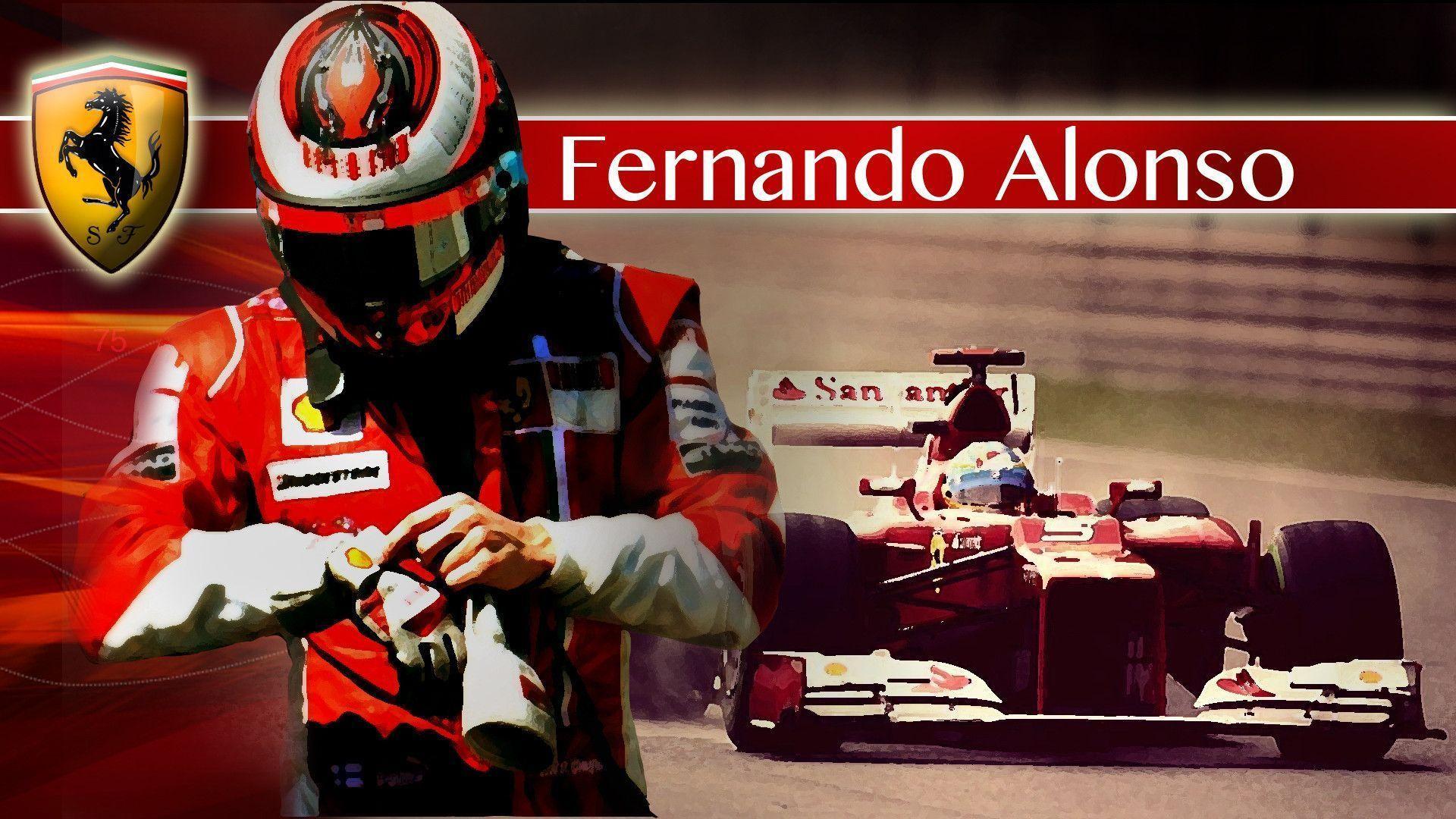 Fernando Alonso Wallpapers 1920x1080